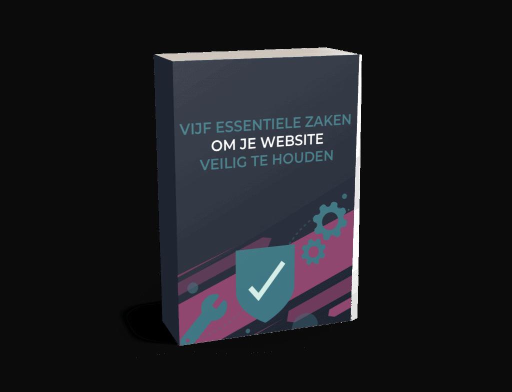 Gratis ebook WordPress onderhoud - 5 essentiële zaken om je website veilig te houden